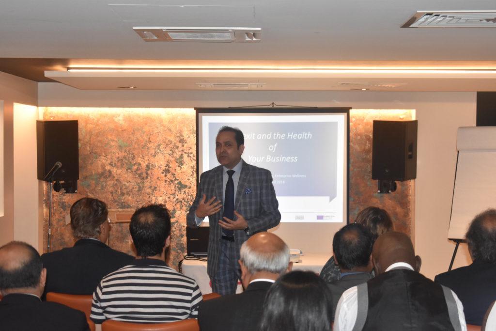 Gagan Arora speaking on mindset